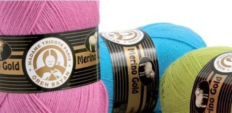 Нитки для вязания Merino Gold