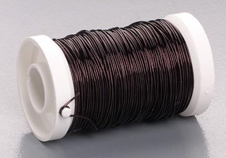 Металлическая проволока, чёрного цвета, 0,5 mm; 6466800