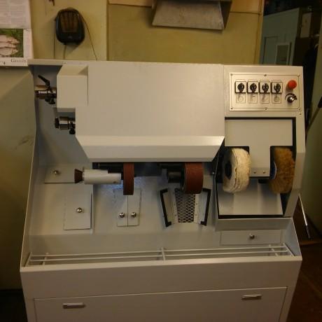 Машина для обработки кожи