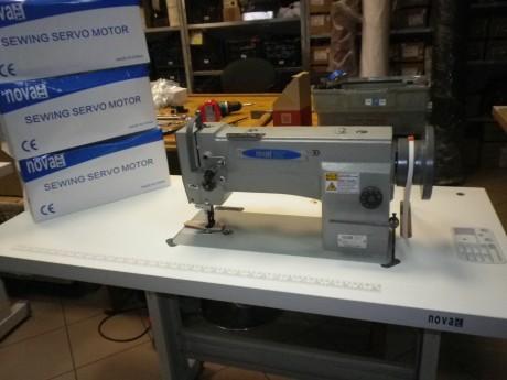 Однаигольная машина Novatex NS-0698 для тяжелых тканей без автоматики