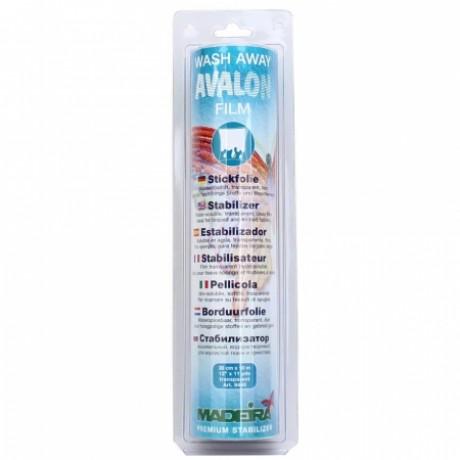 Стабилизатор водорастворимый для трикотажа, ворс Madeira Avalon Film (30смх10м) арт.9440