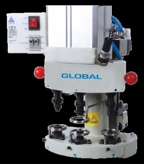 Пневматический пресс для установки фурнитуры GLOBAL PFA 03