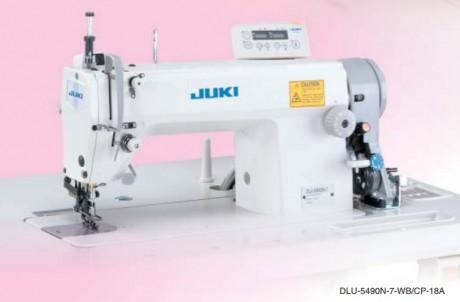 JUKI DLU-5490N (-7) 1-игольная машина с регулируемым верхним продвижением