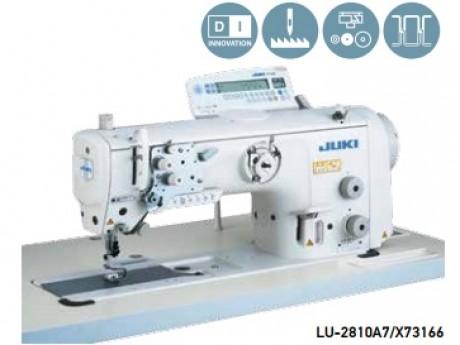 Швейная машина с игольным продвижением и вертикальной осью увеличенyого челнока JUKI LU-2810A7/X73166