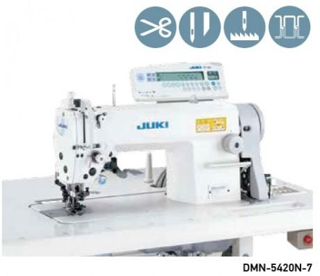 1-игольная машина челночного стежка с игольным продвижением и обрезкой края материала JUKI DMN-5420N-7