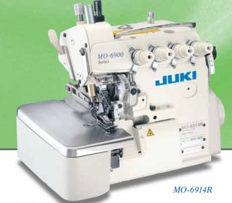 Оверлок JUKI серии MO-6900R (регулируемое верхнее продвижение материала)