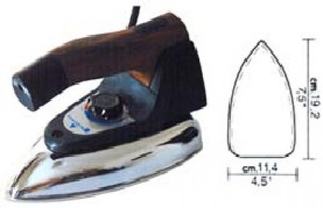 Электрический утюг Rotondi EC-2002 (без пара)
