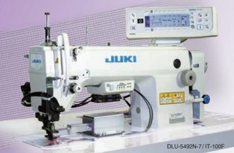 JUKI DLU-5492N-7 для обтачивания воротника рубашки.