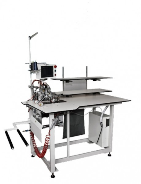 Автомат для обметки половинок брюк по контуру с подкладкой и без. JUKI WS-9065