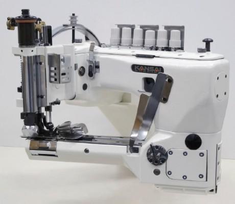 KANSAI SPECIAL SX6803 машина цепного стежка с рукавной платформой