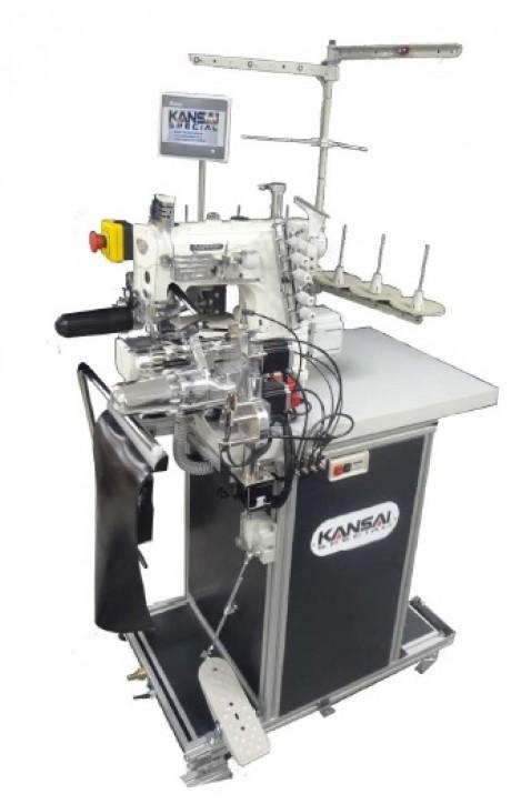 Автоматическая машина для подгибки низа изделия Kansai Special NR9803GALK-ABH3