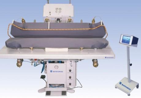 ROTONDI FRV T-133 DO Гладильный пресс для формирования 2 полочек одновременно.