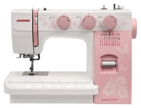 Электромеханическая швейная машина Janome Smart2119