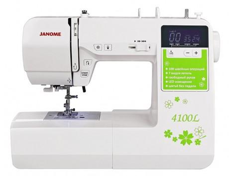 Компьютерная швейная машина Janome 4100L