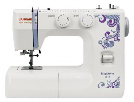 Электромеханическая швейная машина  Janome HighStyle1818