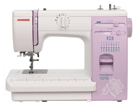 Электромеханическая швейная машина Janome HomeDecor 1015