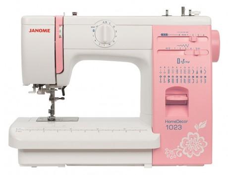 Электромеханическая швейная машина с металлической станиной Janome HomeDecor 1023