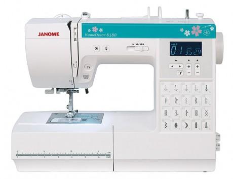 Компьютерная швейная машина Janome HomeDecor 6180