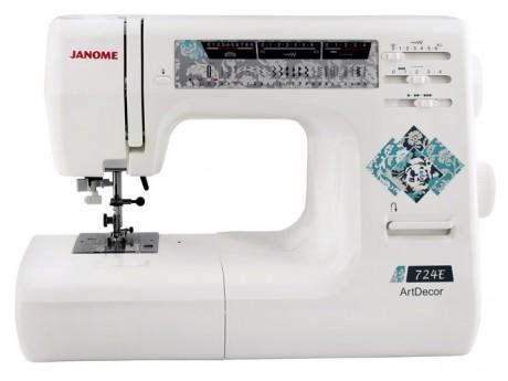 Электромеханическая швейная машина JANOME ARTDECOR 724E