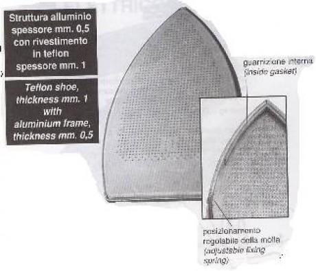 Тефлоновая подошва TDL-96