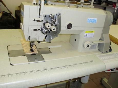 Двухигольная швейная машина NOVATEX NS-845 с отключением иглы